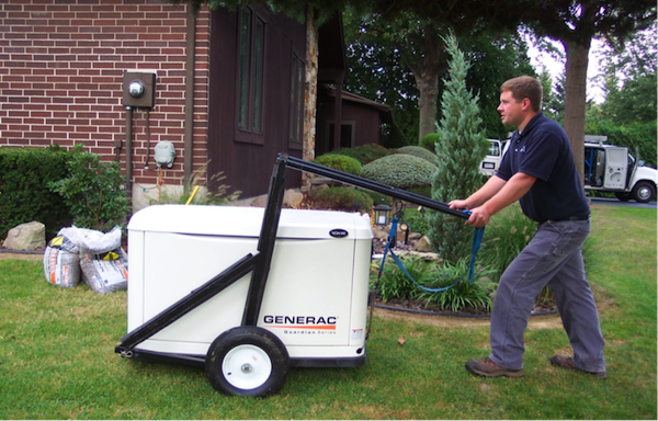 Generator Light Duty Lift Cart