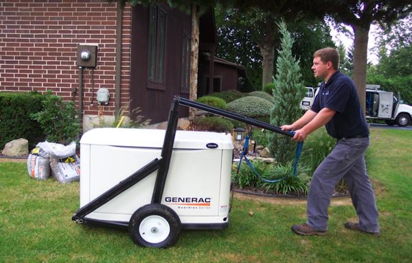 Generator Light Duty Lift Cart